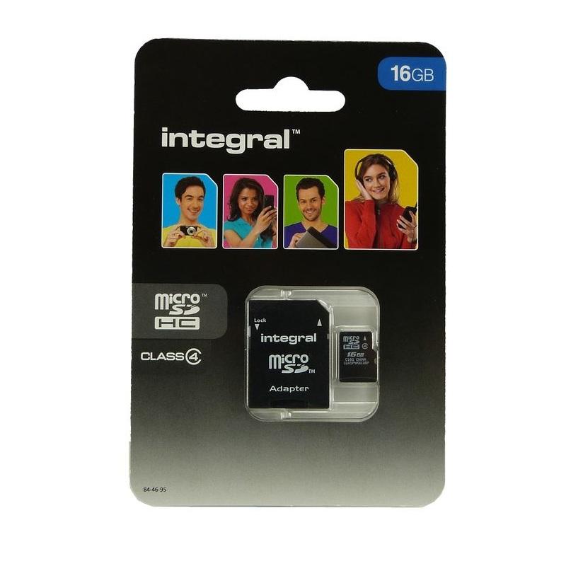 Carte-Memoire-Micro-SD-16-Go-classe-4-Pour-Wileyfox-Spark miniatuur 2