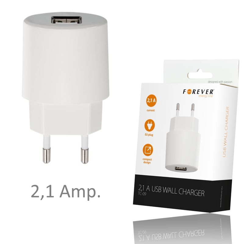 Chargeur-Secteur-USB-2A-Blanc-Pour-Samsung-Galaxy-NOTE-II